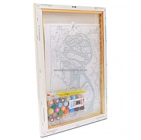 Картина по номерам Идейка «Жемчужина Африки» 35x50 см (КНО2625), фото 3