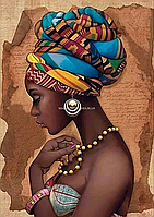 Картина по номерам Идейка «Жемчужина Африки» 35x50 см (КНО2625), фото 4