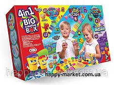 Набір 4в1 BIG CREATIVE BOX BCRB-01 (тісто для ліплення, кулька. пласт, маса для ліплення,кине пісок)