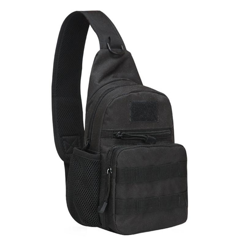 Рюкзак тактический на одно плечо AOKALI Outdoor A14 20L Black (5368-16999)