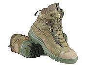 Тактические ботинки / армейская демисезонная военная обувь GROM stimul (олива)