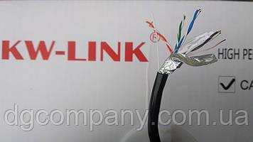 Кабель вита пара FTP зовнішня KW-Link,4х2х0,51,мідна,305м