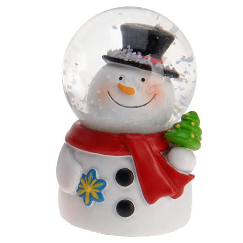 Новогодняя декоративная фигурка Снеговик (мал.)