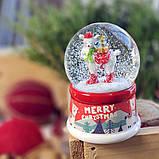Водяной снежный шар Лама (мал.) в ассортименте, фото 2