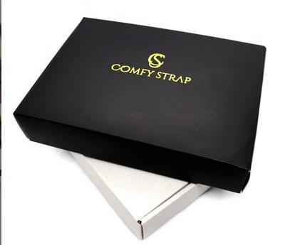 Упаковка брендовая подарочная COMFY STRAP Черный (055)