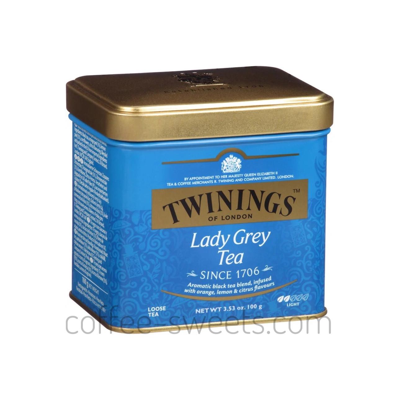 Чай TWININGS Lady Grey Tea 100г