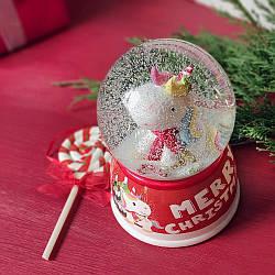 Водяной снежный шар Единорог (бол.) в ассортименте