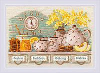 Набор для вышивания крестом Риолис Tea Time (1873)