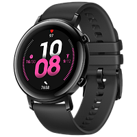Умные cмарт часы Huawei Watch GT 2 42mm black smart фитнес браслет трекер