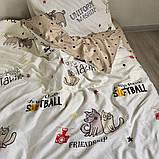 399 Комплект постельного белья подростковый сатин Viluta™, фото 2