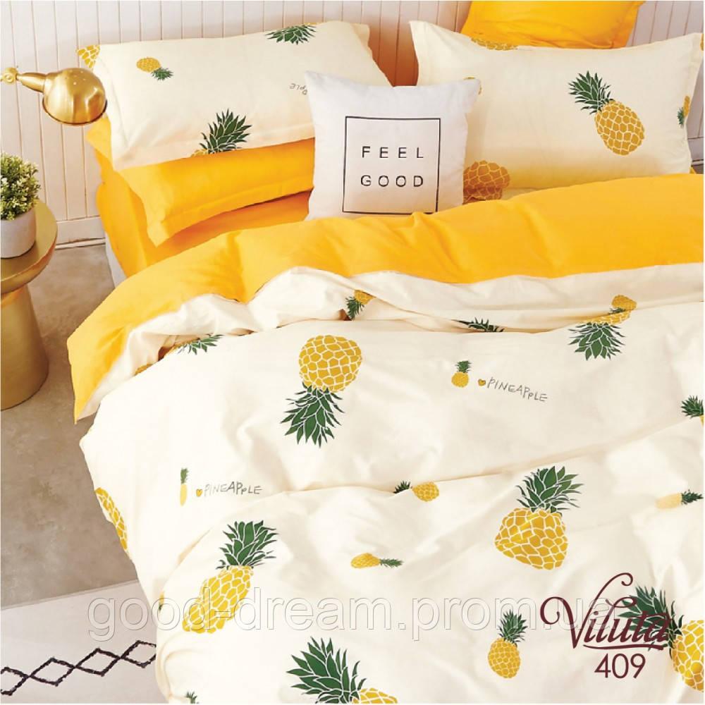 409 Комплект постельного белья подростковый сатин Viluta™