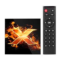 Смарт ТВ-приставка VONTAR X1 4/32Gb медіаплеєр android tv box для телевізора на андроїді