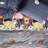 445 Комплект постельного белья подростковый сатин Viluta™, фото 3