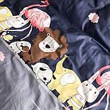 445 Комплект постельного белья подростковый сатин Viluta™, фото 4