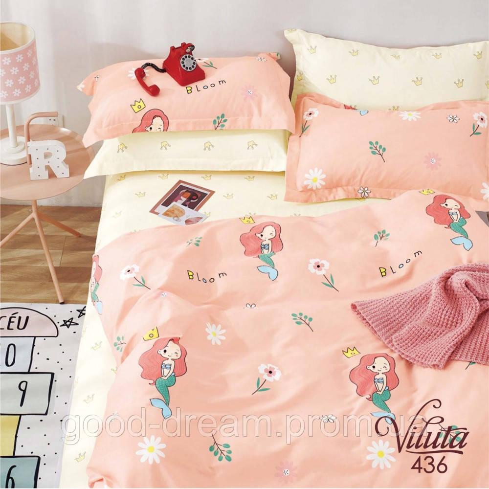 Комплект постельного белья подростковый сатин 436 Viluta™