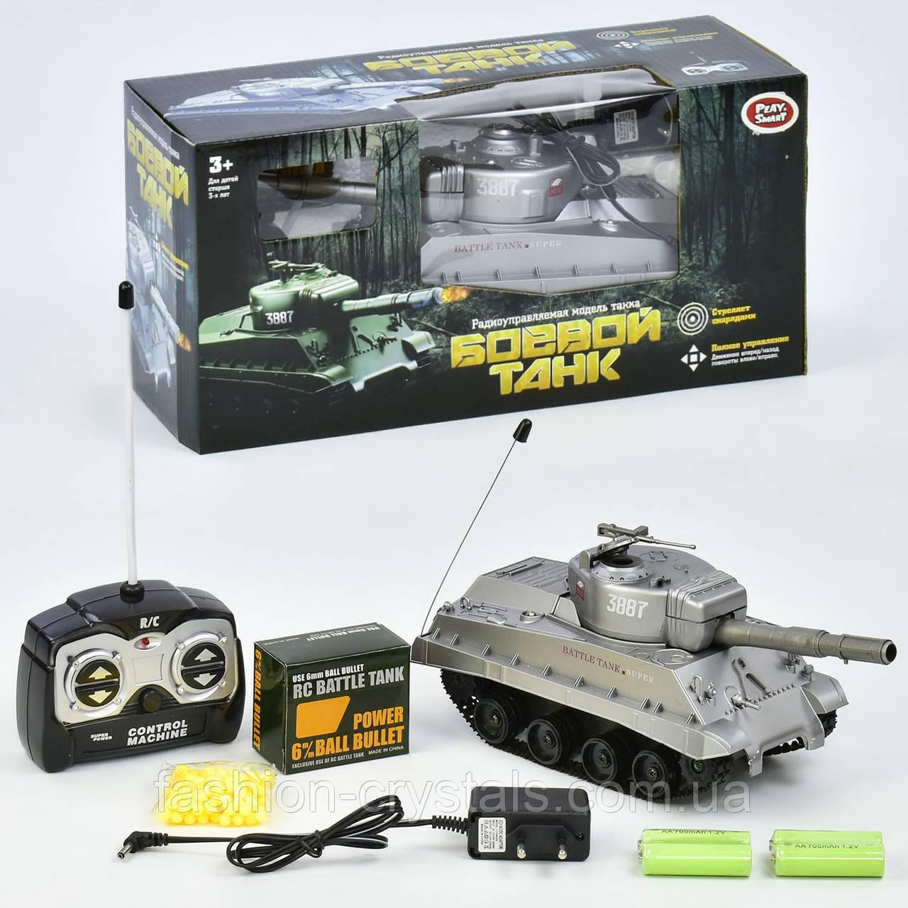 Боевой танк на радиоуправлении 9343