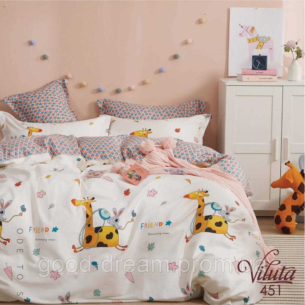 Комплект постельного белья подростковый сатин 451 Viluta™
