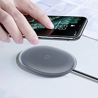 Беспроводное Зарядное BaseUs Jelly Wireless Charger 15W black