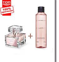 Оригинал! Духи 30мл + парфюмированный гель для ванны и душа comme une evidence yves rocher (эвиденс ив роше)