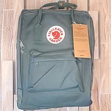 Рюкзак Fjallraven Kanken Classic на стиле, Желтый 16 литров (Полиэстер), фото 2