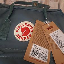 Рюкзак Fjallraven Kanken Classic на стиле, Желтый 16 литров (Полиэстер), фото 3