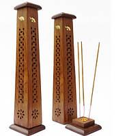 """Подставка """"Башня со Слониками"""" h=29,5 cm дерево"""