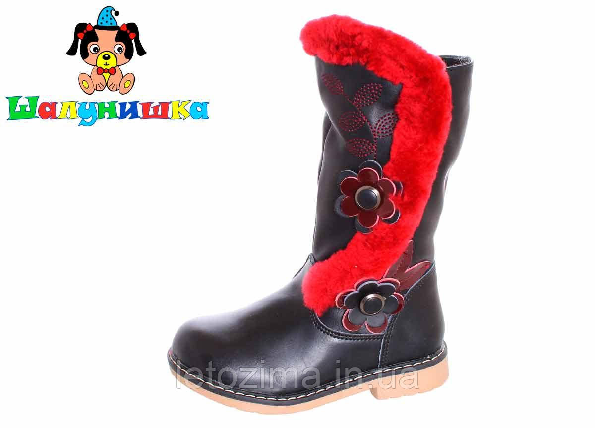 Зимові чоботи для дівчинки р. 28 - 32