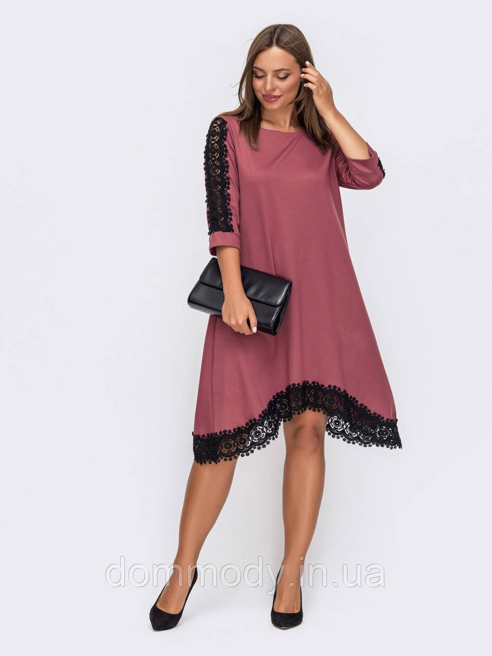 Платье женское Monica  pink