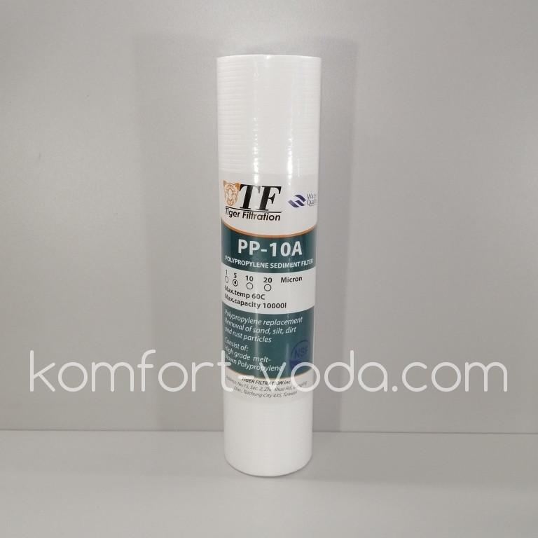 Картридж полипропиленовый Tiger Filtration PP-10A, 10 мкм