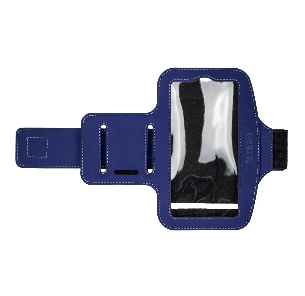 Чехол Valenta для телефонов диагональю 5,5 - 5,7 дюймов Синий (С-1235L)