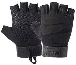 Перчатки без пальцев  штурмовые тактические Battlewolf