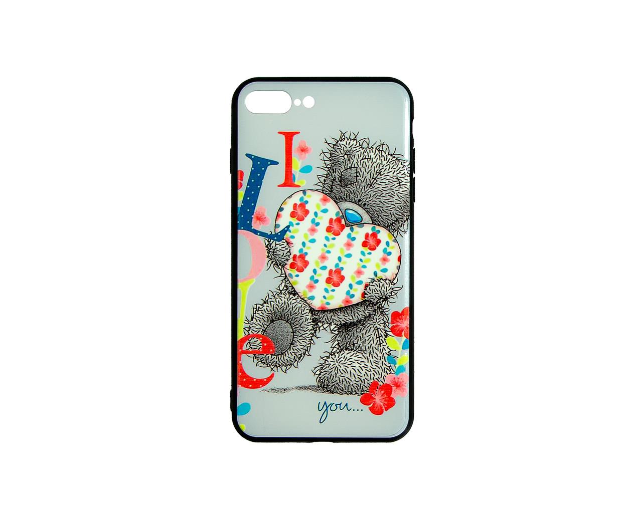 Чехол-накладка 3D для Apple IPhone 7Plus Lovely Bear (1565)