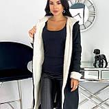 Кардиган женский с меховой подкладкой Зима Размеры: 42-44, 46-48, 50-52, фото 10