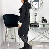 Кардиган женский с меховой подкладкой Зима Размеры: 42-44, 46-48, 50-52, фото 7