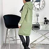 Кардиган женский с меховой подкладкой Зима Размеры: 42-44, 46-48, 50-52, фото 4