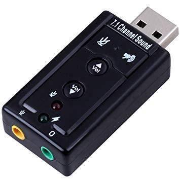 USB звуковая карта Спартак 3D Sound card 7.1 внешняя (000219)