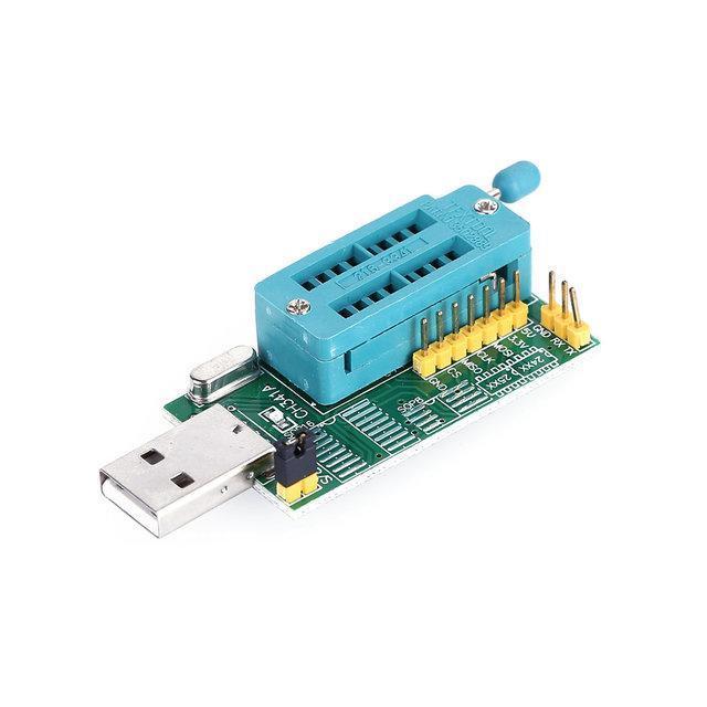 USB програматор Спартак CH341A 24 25 FLASH 24 EEPROM (004282)