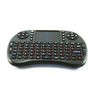 Беспроводная клавиатура Rii mini i8 2.4GHZ RUS Черный (004060)