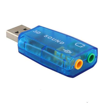 Звуковая карта USB Спартак Sound card 5.1 внешняя (000068)