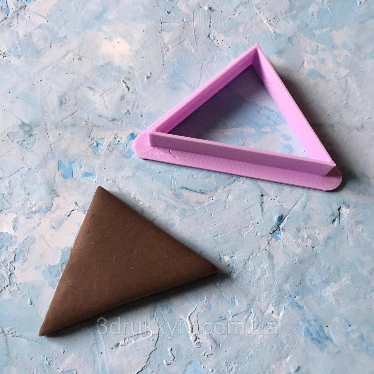 """Вирубка - формочка для пряників """"Трикутник #1"""" / Вирубка - формочка для пряників """"Трикутник #1"""""""