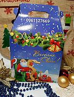 Новогодняя коробка-упаковка для сладостей