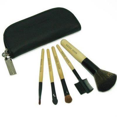 Кисти для макияжа 5 штук + чехол BOBBI BROWN (bnnhll2043)