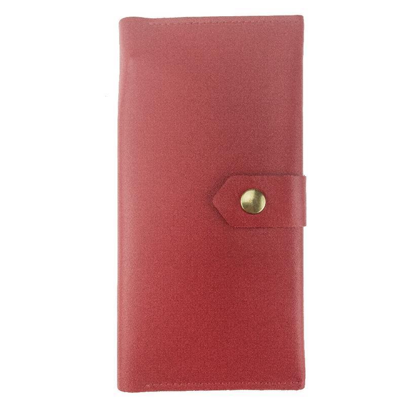 Кожаный кошелек KISA 18.5 x 8.5 x 1.2 см Красный (ХР186S_2)