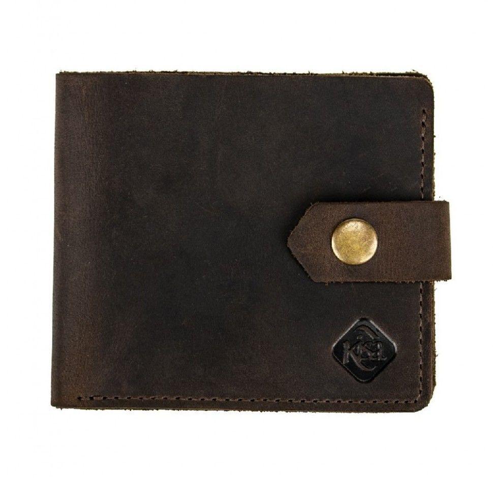 Чоловічий гаманець VALENTA Коричневий (ХР19782)