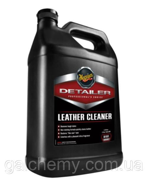 Очищувач шкіряних поверхонь Detailer Leather Cleaner (3,78 мл) ТМ Meguiar's