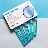 Увлажняющий филлер для волос с гиалуроном FarmStay Hyaluronic Acid Super Aqua Hair Filler, 13 ml.