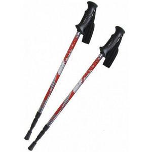 Трекинговые палки Tramp TRR-009 для скандинавской ходьбы телескопические Red (004365)