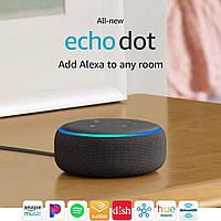 Смарт-колонка Amazon Echo Dot (3gen, 2018) Charcoal *EN