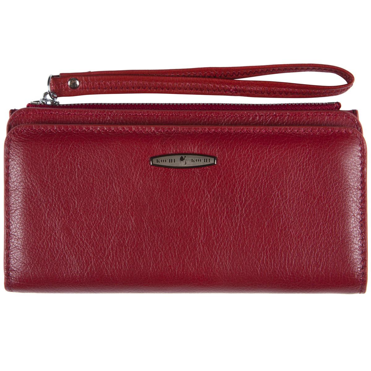 Жіночий клатч-гаманець KOCHI Бордовий (м К6838-Н09бор)