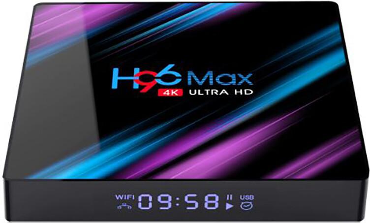 Смарт ТВ приставка Enybox H96 MAX 4 / 64Гб tv box android для телевізора на андроїд
